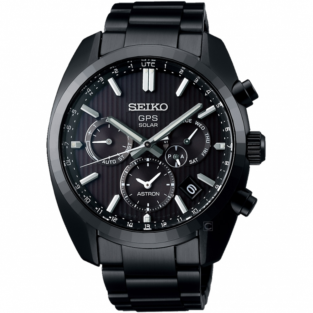 SEIKO精工ASTRON 5X53雙時區太陽能手錶(SSH023J1)