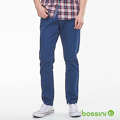 bossini男裝-修身卡其長褲03綠松色