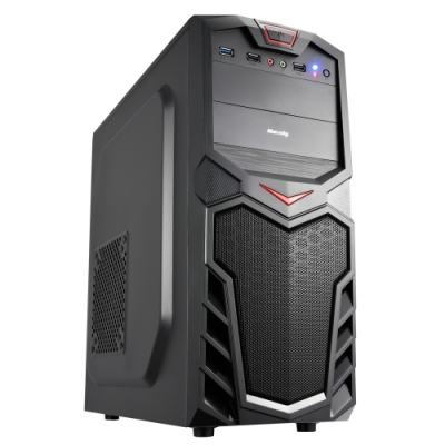 華碩H310平台[戰國教士]i7八核GT1030獨顯電腦