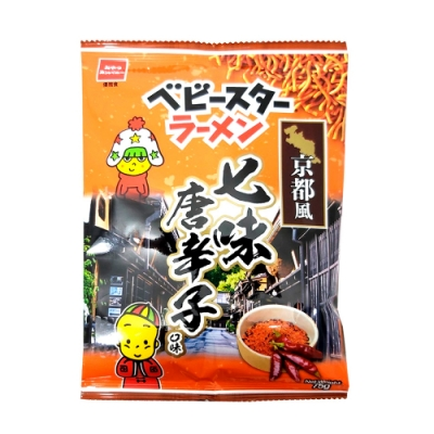 OYATSU優雅食 點心餅-京都風七味唐辛子口味(75g)