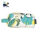 【COQENPATE】法國有機棉無毒環保布包 -  方方立體袋 -海洋