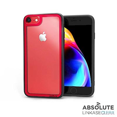 LINKASECLEAR iPhone8/8+ 大猩猩9H抗衝擊玻璃殼(紅機首選...