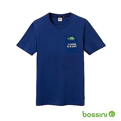 bossini男裝-玩具總動員印花T恤-三眼怪01淺綠松