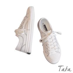 車線造型帆布鞋 TATA
