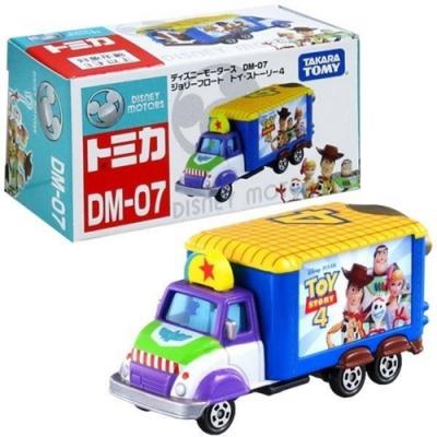 任選TOMICA TS4 DM07 玩具總動員4電影宣傳車 DS13285夢幻迪士尼小汽車