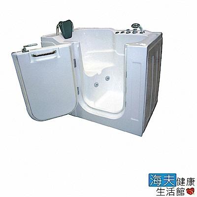 海夫健康生活館 開門式浴缸 104-R 氣泡按摩款 (130*80*104cm)