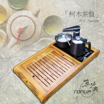 福氣來臨 茶盤泡茶機組合-不銹鋼款