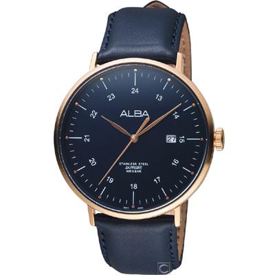 ALBA 雅柏  藝術時尚腕錶(AS9H48X1)