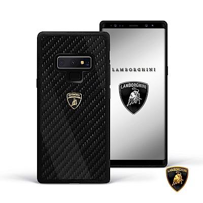 SAMSUNG Galaxy Note 9 Lamborghini藍寶堅尼碳纖維手機殼