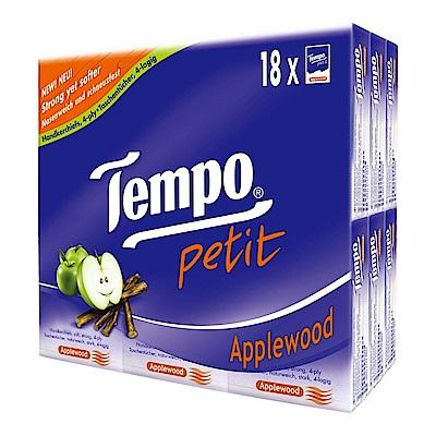 Tempo紙手帕-蘋果木 7抽x18包/組
