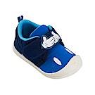 迪士尼童鞋 米奇 魔鬼氈防滑休閒鞋-藍