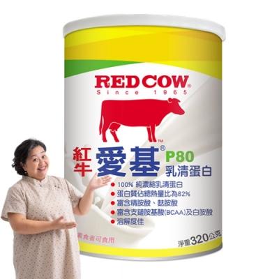 【紅牛】愛基P80乳清蛋白-320g
