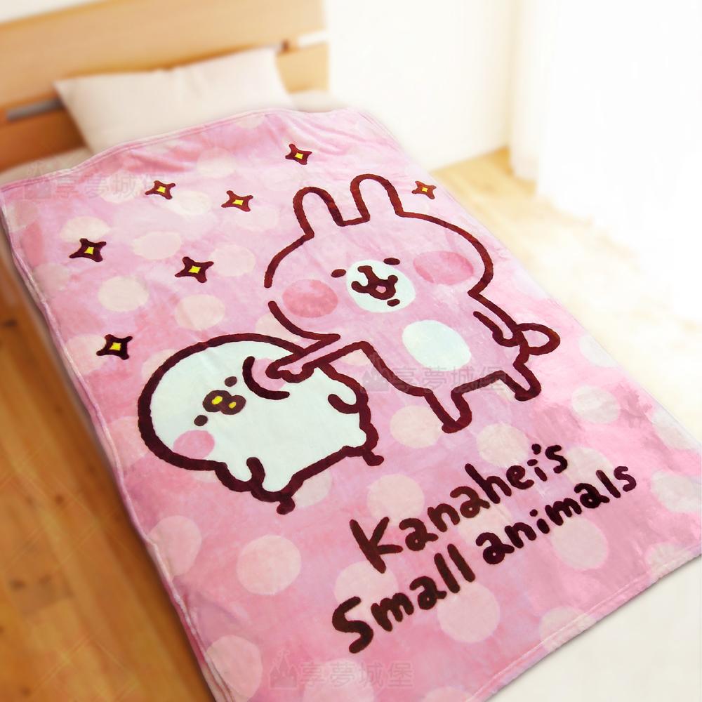 享夢城堡 法蘭絨毯100x150cm-卡娜赫拉的小動物Kanahei 戳戳樂 @ Y!購物