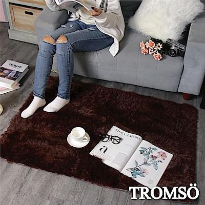 TROMSO 北歐風尚長毛地毯-品味深咖