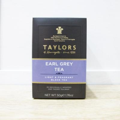 英國皇家泰勒茶Taylors 皇家伯爵茶紅茶包(20包入/盒)