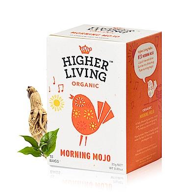 699免運英國HIGHER LIVING 有機晨間人蔘綠茶15包-共25g
