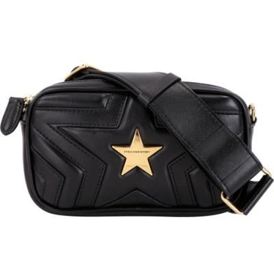 [時時樂限定]Stella McCartney Star 黑色星型腰包限時降69折