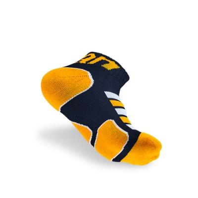 【titan】太肯 功能慢跑襪 2s 藍/黃 3雙 馬拉松 跑步 健走專用 足底均壓