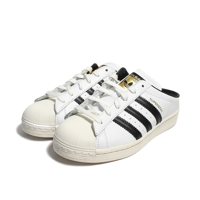 【時時樂限定】ADIDAS- 經典復古鞋 -SUPERSTAR MULE-女鞋