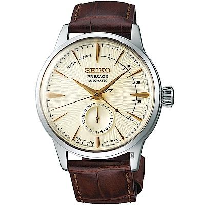 (無卡分期6期)SEIKO 精工 Presage 調酒師動力機械錶(SSA387J1)