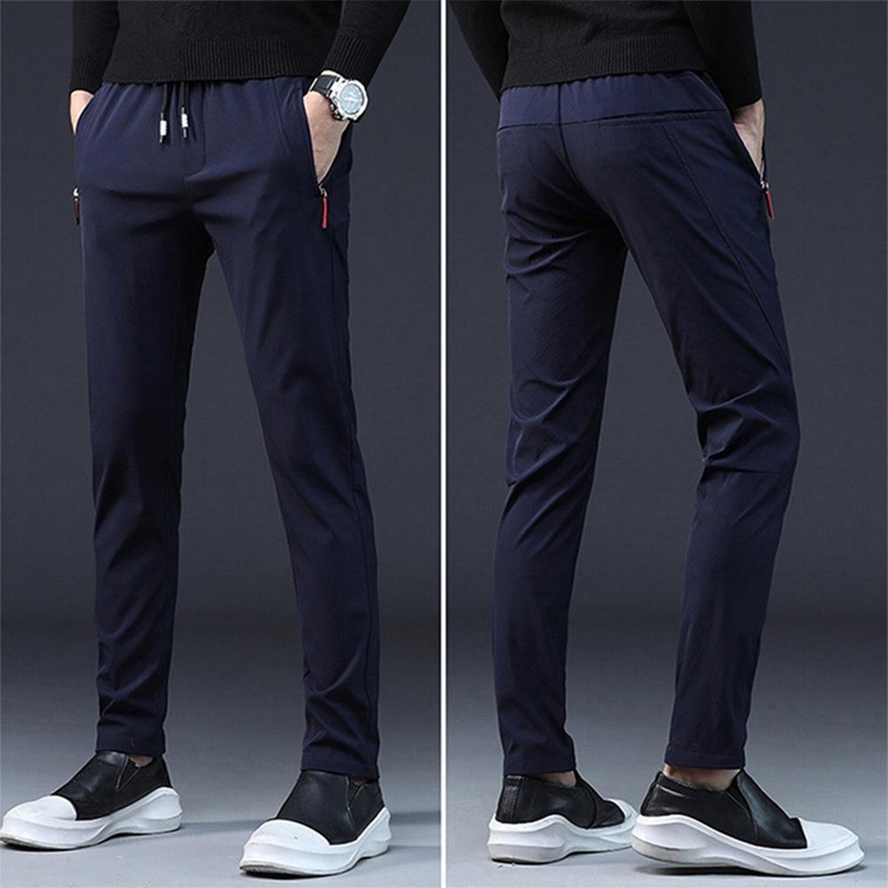 【KISSDIAMOND】韓版時尚修身直筒高彈性休閒褲(KD-918) product image 1