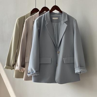 清新簡約俐落西裝外套M-L(共四色)-Dorri