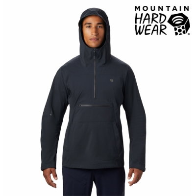 【美國 Mountain Hardwear】Exposure/2 Gore-Tex Paclite Stretch Anorak GTX輕量防水套頭上衣 男款 深風暴灰 #1879351