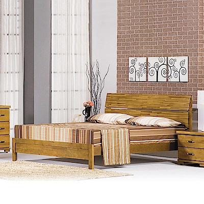 Bernice-布特思6尺實木雙人加大床架(不含床墊)-180x202x102cm