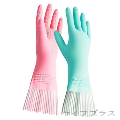 美廚/手護乳膠手套/加長型-M-12雙入