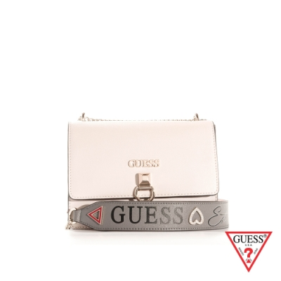 GUESS-女包-簡約環扣鍊條方包-雙色