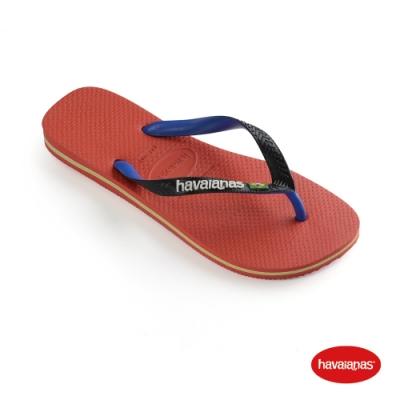 Havaianas 哈瓦仕 拖鞋 夾腳拖 人字拖 巴西 男鞋 女鞋 跳色 紅勢力 4123206-5778U Brasil Mix