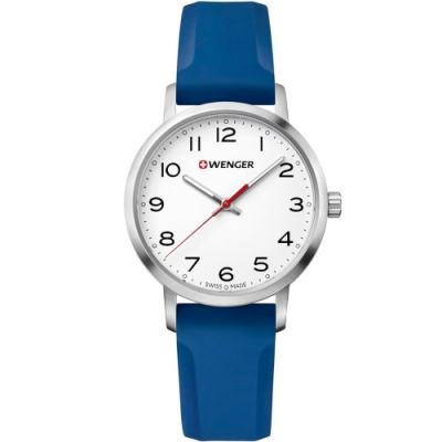 WENGER Avenue 城市美學時尚手錶(01.1621.107)35mm