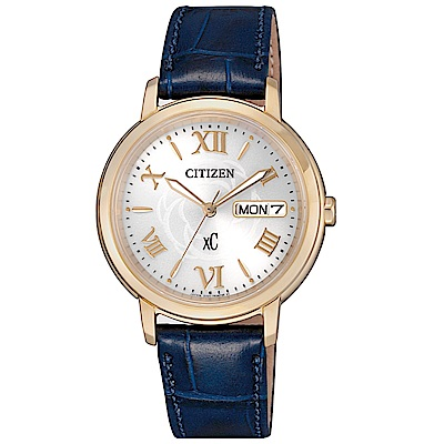 CITIZEN XC 優雅花漾光動能時尚腕錶(EW2422-21A)