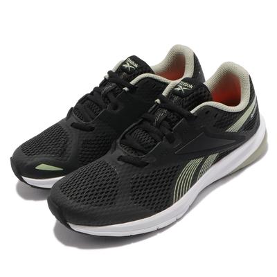 Reebok 慢跑鞋 Endless Road 2.0 運動 女鞋 輕量 透氣 舒適 避震 路跑 健身 黑 綠 FV1624