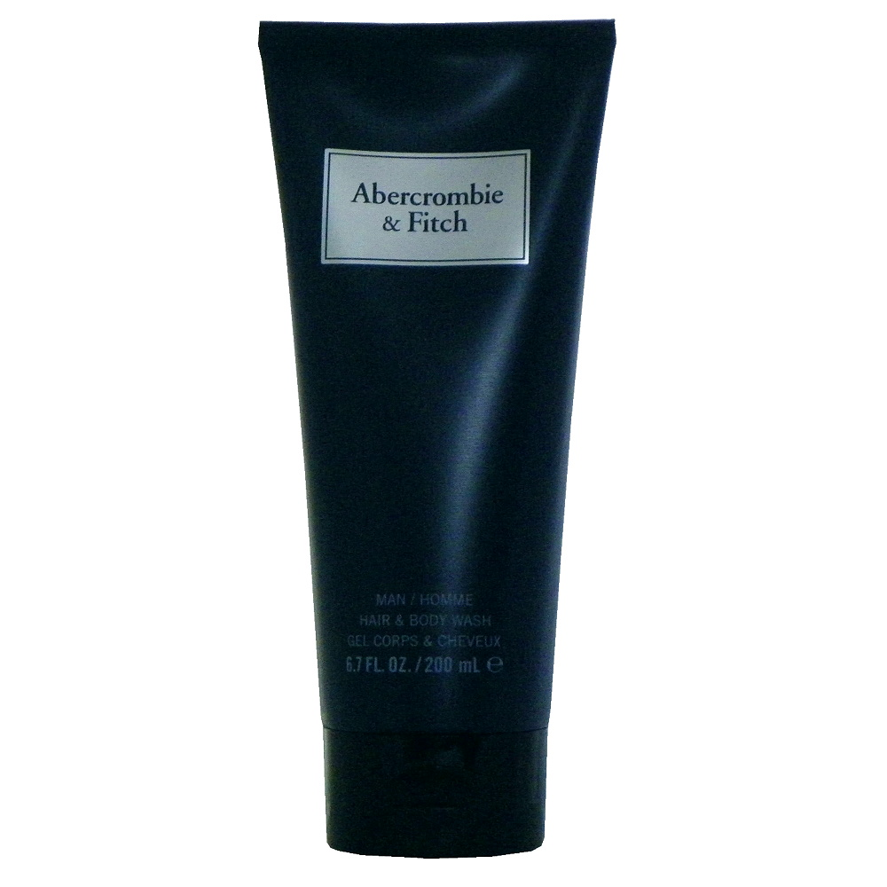 Abercrombie & Fitch First 湛藍淡香水沐浴精 200ml 無外盒