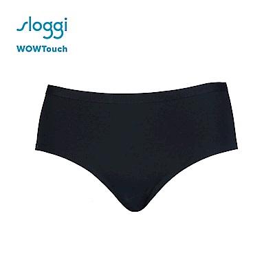 sloggi WOWTouch系列平口無痕褲 經典黑