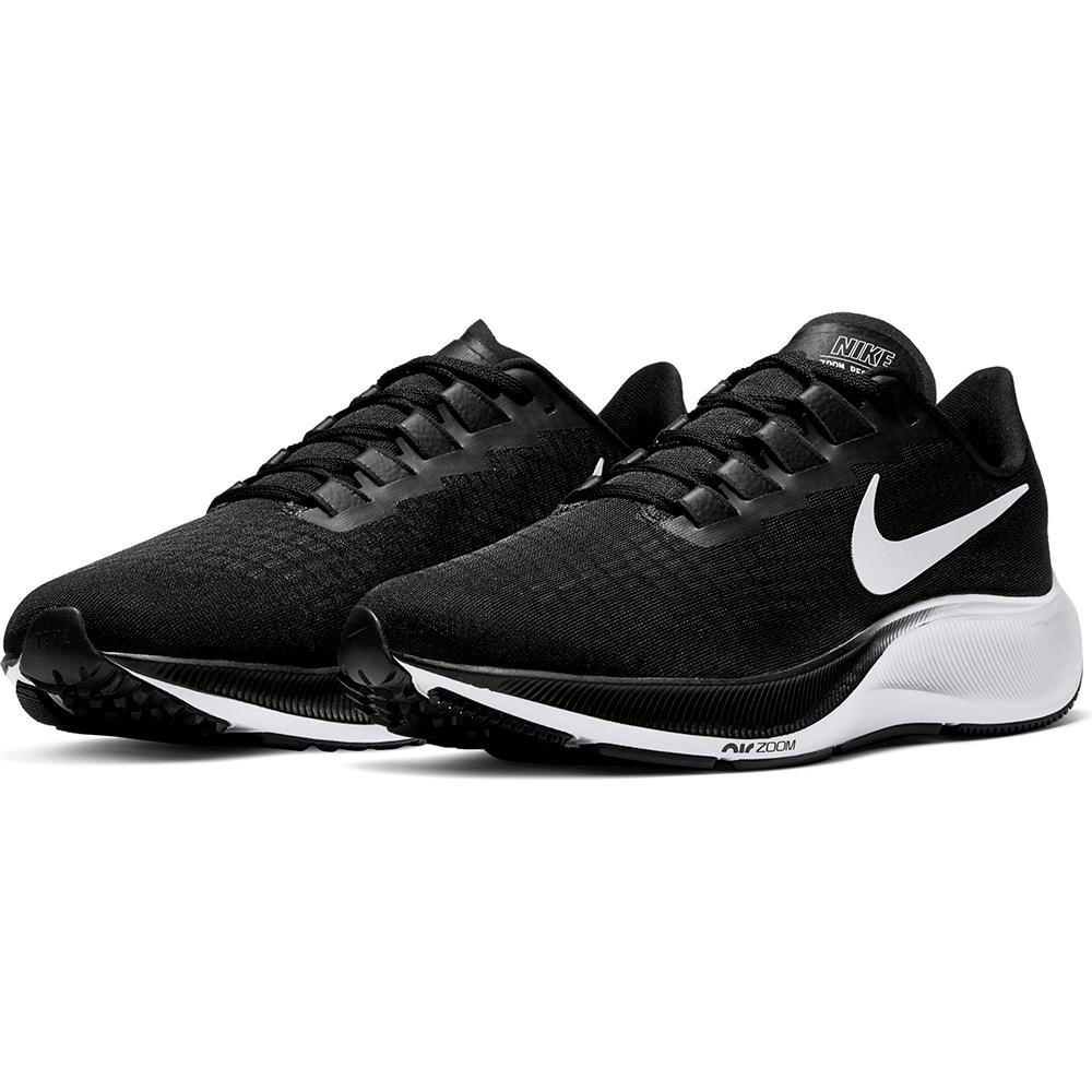 NIKE 慢跑鞋  男鞋 休閒 路跑 健身 運動鞋 黑 BQ9646002  AIR ZOOM PEGASUS 37