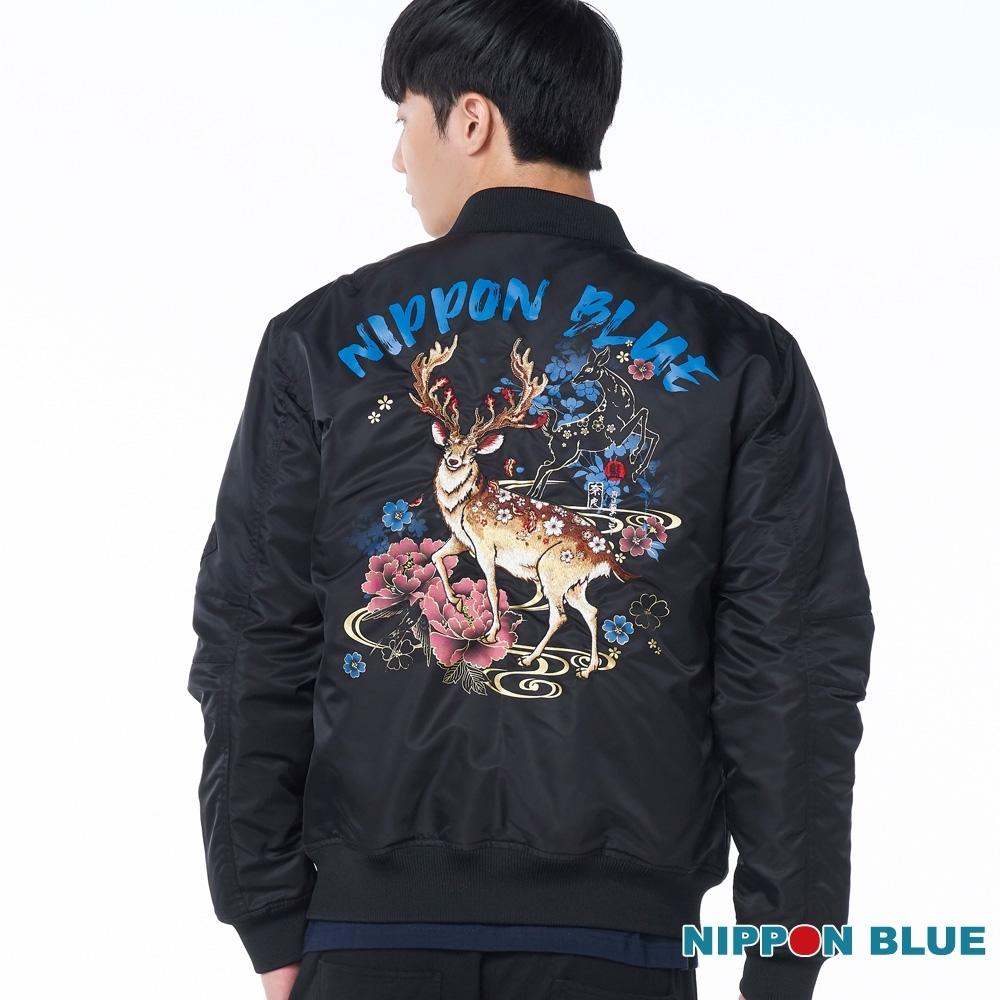 日本藍 BLUE WAY –日本藍奈良情鹿空軍夾克
