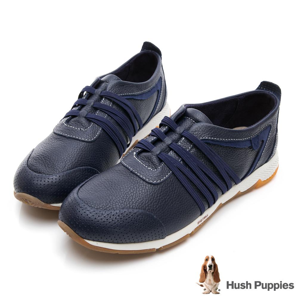 Hush Puppies CESKY 機能健走鞋-深藍