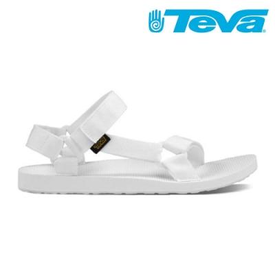 TEVA Original Universal 女 休閒涼鞋 亮白 設計師聯名款 TV1003987BRWH
