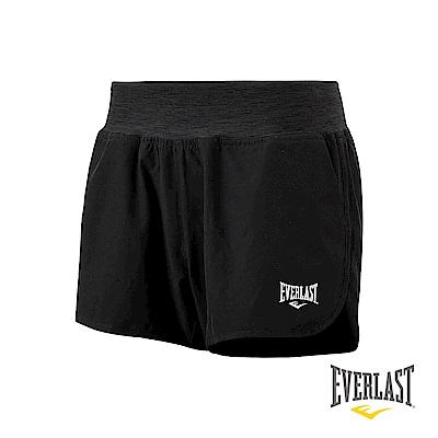 EVERLAST 機能運動短褲-女-黑