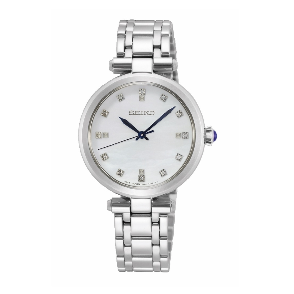 SEIKO 氣質點鑽優雅時尚腕錶7N01-0KT0S(SRZ529P1)