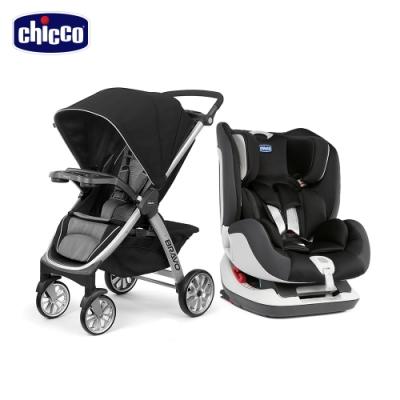 chicco-Bravo嬰兒手推車Air版+Seat up 012 Isofix汽座