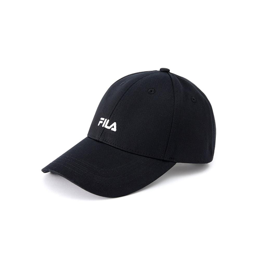 FILA 經典款LOGO棒球帽-黑 HTV-5002-BK