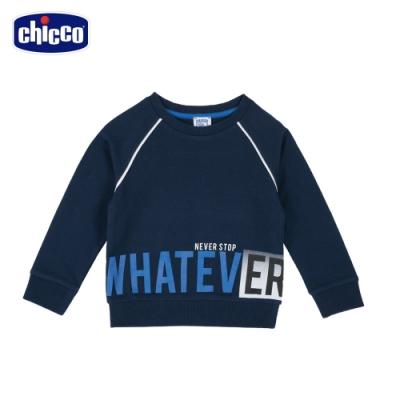 chicco- TO BE Baby-下襬英文字拉克蘭長袖上衣