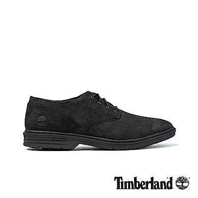 Timberland 男款黑色正絨面SawyerLane牛津休閒鞋|A1QCZ