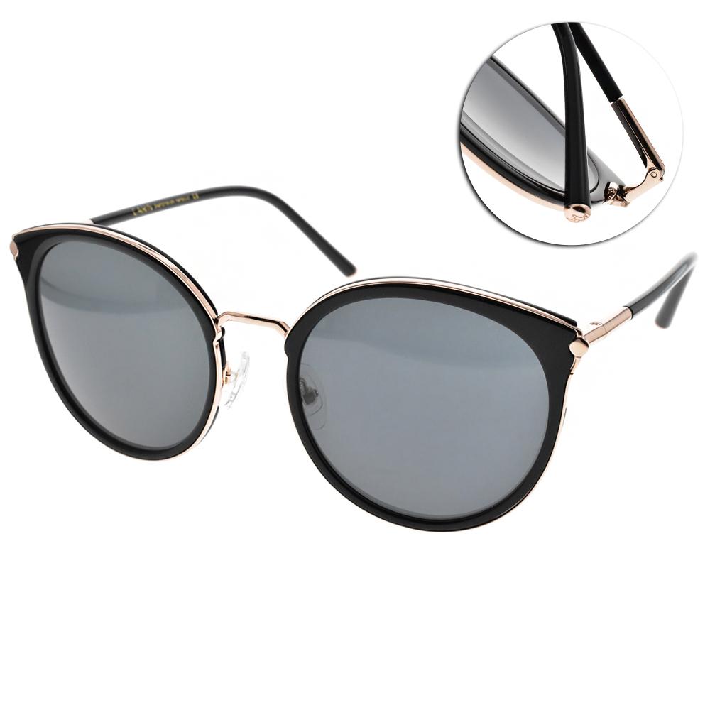 CARIN太陽眼鏡 秀智代言 韓系俏皮貓眼款/黑金 #VICTORIA C1