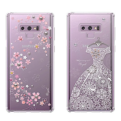 apbs Samsung Note9 施華彩鑽防震雙料手機殼-多圖可選