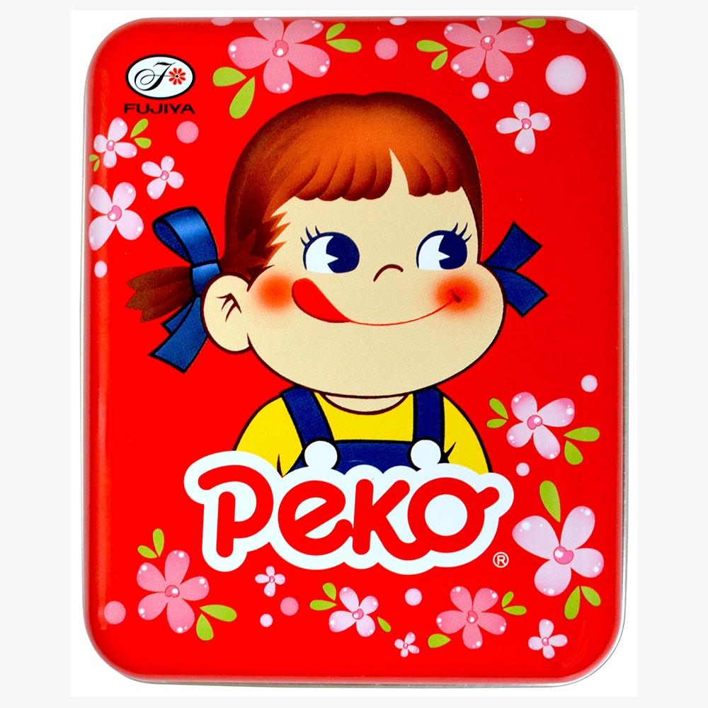 不二家   Peko花漾牛奶糖罐-紅櫻(40g)