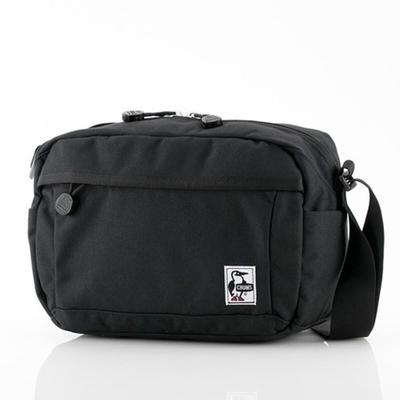 CHUMS Spruce Shoulder Bag肩背包 黑色-CH603159K001